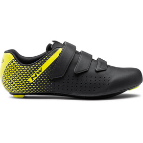 Northwave Core 2 Shoes Men, black/yellow fluo
